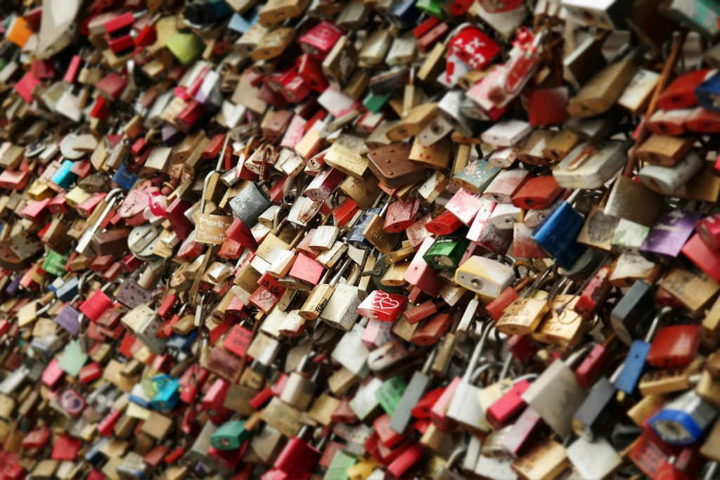 Podcasts and Padlocks - don't get locked into listening to stuff that doesn't serve you...